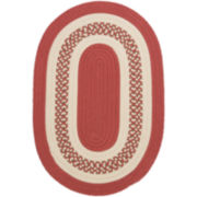 Lighthouse Reversible Braided Indoor/Outdoor Oval Rug