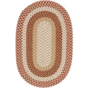Plymouth Reversible Braided Indoor/Outdoor Oval Rug