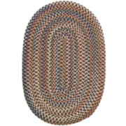 Colonial Mills® Ashburn Reversible Braided Oval Rug