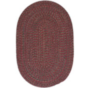 Grafton Tweed Reversible Braided Oval Rugs