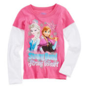 Disney Frozen Doubler Tee - Girls 4-6x