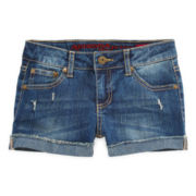 Arizona Denim Shorties - Girls 7-16 and Plus