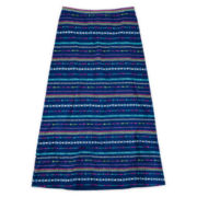 Arizona Knit Classic Maxi Skirt - Girls 7-16 and Plus