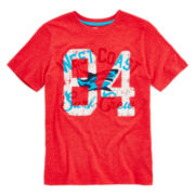 Arizona Short-Sleeve Graphic Knit Tee – Boys 8-20 and Husky