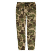 Hollywood Twill Camo Jogger Pants – Boys