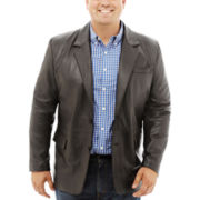 Excelled® Lambskin Blazer–Big & Tall