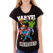 Marvel® Heroes Short-Sleeve Graphic Tee