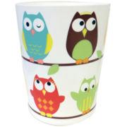 Owls Wastebasket