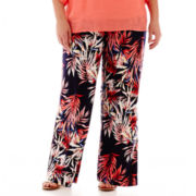Alyx® Floral Print Soft Pants - Plus
