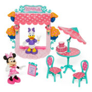 Disney Collection 8-pc. Minnie Mouse Paris Café Play Set - Girls