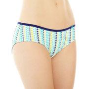 Flirtitude® Tailored Hipster Panties