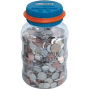 Discovery Kids™ Electronic Coin Counting Money Jar