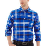 St. John's Bay® Long-Sleeve Easy-Care Oxford Shirt