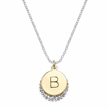 jcpenney.com | Sparkle Allure Silver Over Brass Pendant Necklace