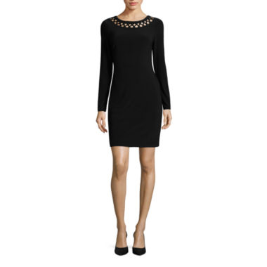 jcpenney.com | Rebecca B Long Sleeve Bodycon Dress