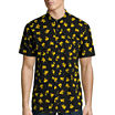 Novelty Season Pikachu Big Pattern Front Shirt