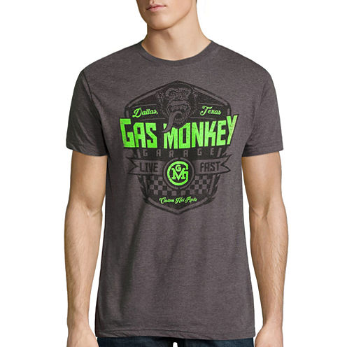 Gas Monkey Live Fast Graphic T-Shirt