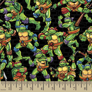 jcpenney.com | Teenage Mutant Ninja Turtles Toss Cotton Fabric By The Yard