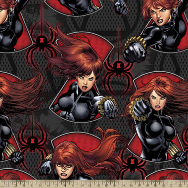 jcpenney.com | Marvel Black Widow Fleece Fabric By The Yard