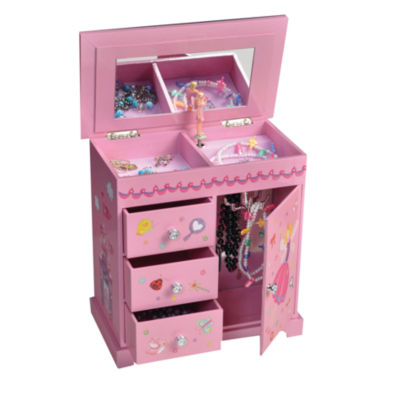 Mele Co Krista Girls Musical Ballerina Jewelry Box