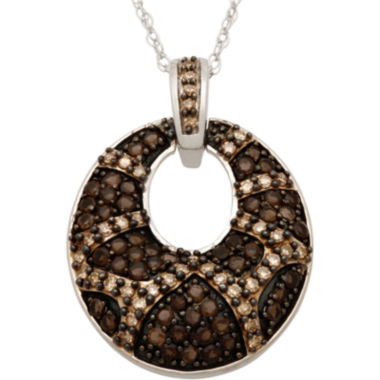 jcpenney.com | 1/2 CT. T.W. Champagne Diamond Fashion Pendant Necklace
