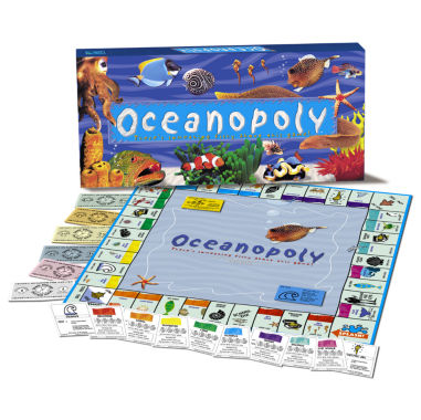 jcpenney.com | Ocean-Opoly Board Game