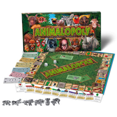 jcpenney.com | Wild Animal-Opoly Board Game