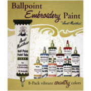 Aunt Martha's Ballpoint Paint Tubes-Country Colors