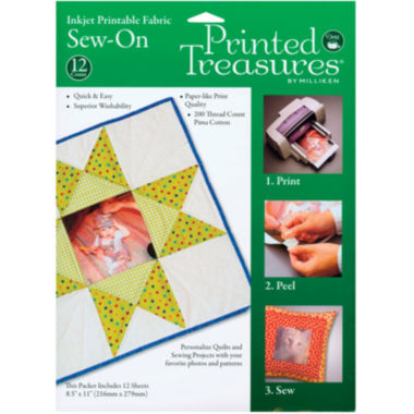 jcpenney.com | Printed Treasures Sew-On Ink Jet Fabric Sheets