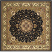 Lyndhurst Traditional Indoor/Outdoor Square Rugs