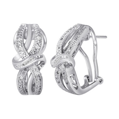 jcpenney.com | 1/10 CT. T.W. Diamond Vintage Earrings