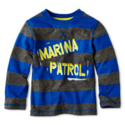 Arizona Striped Long-Sleeve Graphic Tee - Boys 12m-6y