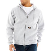 Dickies® Heavyweight Fleece Full Zip Hoodie-Big & Tall