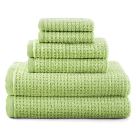 JCPenney Home Quick-Dri Solid Bath Towels