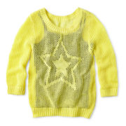 Arizona Mixed-Stitch Icon Sweater - Girls Plus
