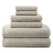 JCPenney Home™ Quick-Dri™ 6-pc. Towel Set