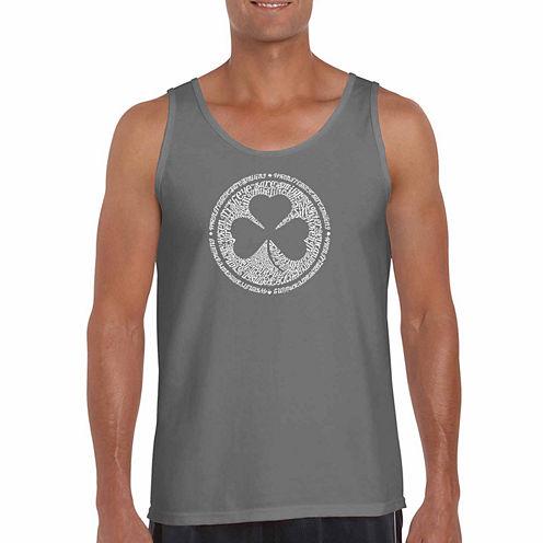 Los Angeles Pop Art Short Sleeve T-Shirt-Big And Tall
