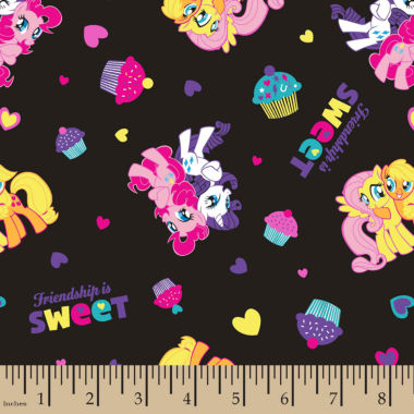 jcpenney.com | My Little Pony Friendship Cotton Fabric