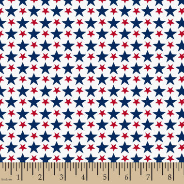 jcpenney.com | Patriotic Packed Stars Cotton Fabric