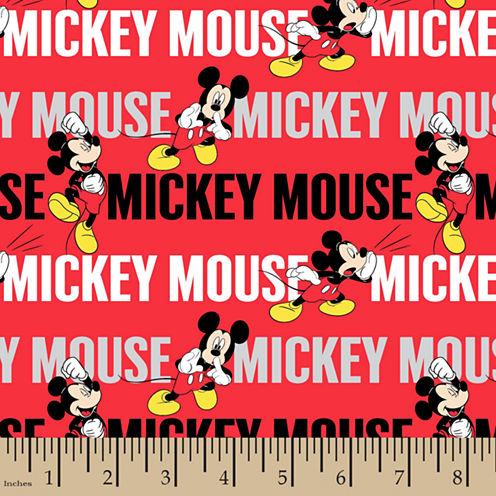 Disney Mickey Mouse Cotton Fabric