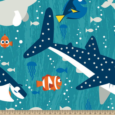 jcpenney.com | Disney Finding Dory Fleece Fabric By the Yard