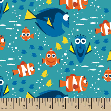 jcpenney.com | Disney Finding Dory Flannel Fabric By the Yard