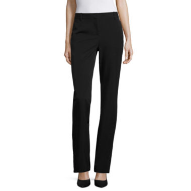 jcpenney.com | nicole by Nicole Miller Side Pocket Bootcut Pant