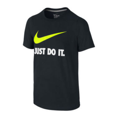 jcpenney.com | Nike® Swoosh Tee - Boys 8-20