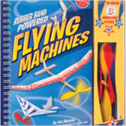 Rubber Band Powered Flying Machines Book Kit