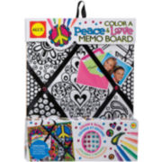 ALEX TOYS® Color a Peace & Love Memo Board Kit