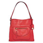 Liz Claiborne® Alison Leather Shoulder Bag
