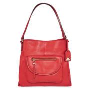 Liz Claiborne® Alison Leather Shoulder Bag