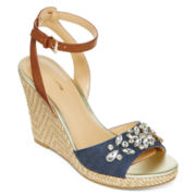Liz Claiborne® Sellina Wedge Sandal