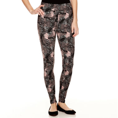 jcpenney.com | Mixit™ Printed Knit Leggings